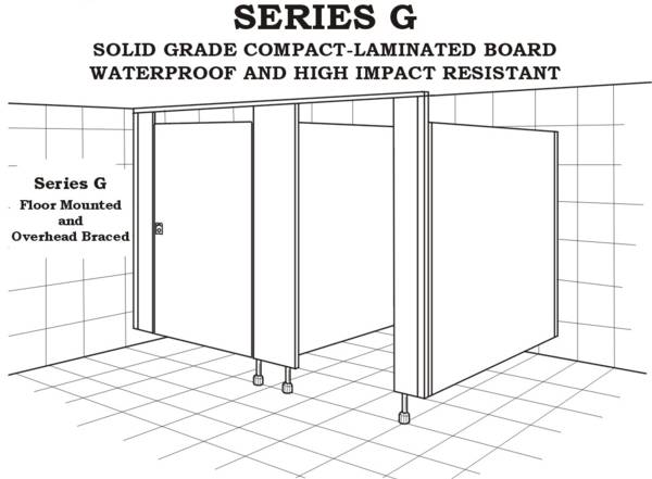 Building plastics toilet partition series g for 1800mm high shower door